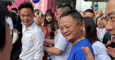 Una rara aparición de Jack Ma en AliDay