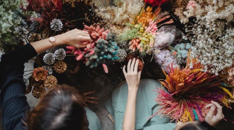 flores de tanatorio